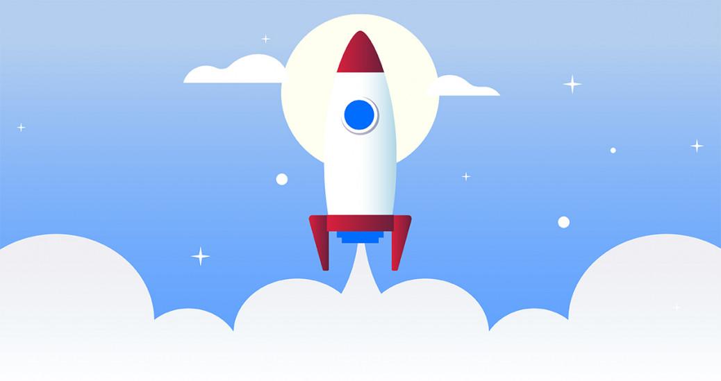 foto de um foguete para representar a inovação social